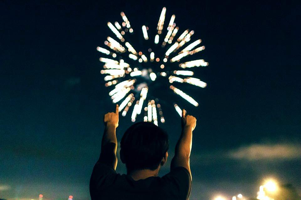 feu artifice fête